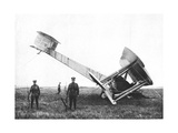 Alcock and Brown's Aeroplane after Completing the First Non-Stop Transatlantic Flight, 1919 Giclee Print