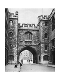 St John's Gate on a Sunday, Clerkenwell, London, 1926-1927 Giclee Print by  McLeish