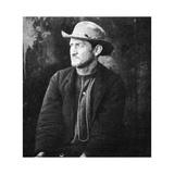 Edward Spangler, Member of the Lincoln Assassination Plot, 1865 Giclée-tryk af Alexander Gardner