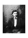 Samuel Arnold, Member of the Lincoln Conspiracy, 1865(195) Giclée-tryk af Alexander Gardner