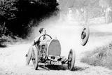 Raymond Mays' Bugatti Loses a Wheel, Early 1930s Reproducción de lámina sobre lienzo