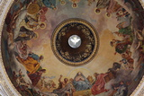 Interior of the Dome of St Isaac's Cathedral, St Petersburg, Russia, 2011 Photographic Print by Sheldon Marshall