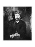 Dr Samuel Mudd, Member of the Lincoln Conspiracy, 1865 Giclée-tryk af Alexander Gardner