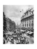 Regent Street, London, 1926-1927 Giclee Print by  McLeish