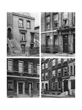 Four London Houses of Famous Men, London, 1926-1927 Giclee Print by  McLeish