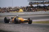 Bruce Mclaren's Mclaren-Ford, Spanish Grand Prix, Jarama, Madrid, 1968 Fotografisk tryk