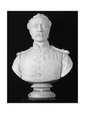 Bust of General Charles Gordon, British Soldier and Administrator, 1886 Fotografisk tryk af William Theed