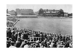 A Cricket Match, Lord's Cricket Ground, London, 1926-1927 Giclee Print by  McLeish