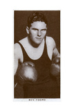 Ben Foord, South African Boxer, 1938 Giclee Print