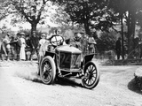 Algernon Guinness Driving a Minerva in the Circuit Des Ardennes, 1907 Fotografisk tryk