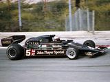 Mario Andretti Racing a Jps Lotus-Cosworth 78, Spanish Grand Prix, Jarama, Spain, 1977 Fotografisk trykk