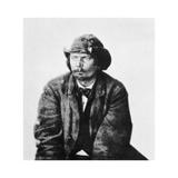 George Atzerodt, Member of the Lincoln Assassination Plot, 1865 Giclée-tryk af Alexander Gardner