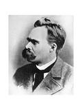 Superman: Friedrich Nietzsche, German Philosopher, 19th Century Giclée-Druck