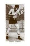 James J Braddock, Irish-American Boxer, 1938 Giclee Print