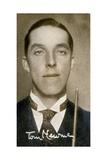 Tom Newman, Billiards Champion, 1935 Giclee Print