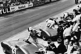 Start of the Le Mans 24 Hours, France, 1959 Lámina fotográfica
