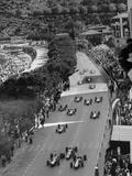 Start of the Monaco Grand Prix, 1964 Photographic Print
