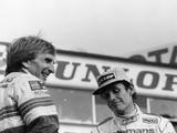 Derek Bell and Jacky Ickx, 1000Km Silverstone, May 1985 Lámina fotográfica