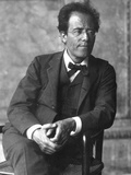 Gustav Mahler, Austrian Composer and Conductor, 1900s Fotografisk tryk