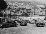 The Monte Carlo Rally, Monaco, 1954 Fotografisk trykk