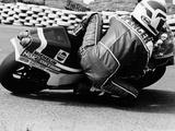 Freddie Spencer on a Honda Ns500, Belgian Grand Prix, Spa, Belgium, 1982 Fotografisk trykk