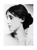 Virginia Woolf (1882-194), English Novelist, Essayist and Critic Lámina giclée