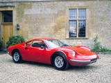 1973 Ferrari Dino 246 Gt Fotografie-Druck