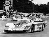 Porsche 956 Driven by Jacky Ickx and Derek Bell, 1982 Fotografisk tryk