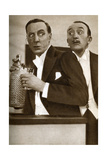 Tom Walls and Ralph Lynn, English Actors, 1933 Reproduction procédé giclée