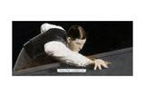 Walter 'Wally' Lindrum, World Billiards Champion, 1935 Giclee Print