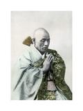A Buddhist Priest, 1904 Giclée-tryk