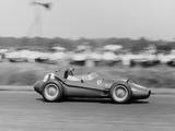 Peter Collins in a Ferrari Dino, British Grand Prix, Silverstone, 1958 Fotografie-Druck