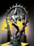 Bronze Figure of Shiva, Tamil Nadu, India, 950 Lámina fotográfica