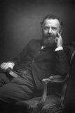 William Thomas Stead (1849-191), English Journalist, 1893 Reproduction photographique par W&d Downey