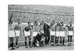 Italian National Football Team, Berlin Olympics, 1936 Giclee-trykk