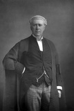 Frank Lockwood (1846-189), English Lawyer and Politician, 1890 Reproduction photographique par W&d Downey