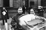 Kenelm Lee Guinness Behind the Wheel of a Sunbeam C1913-C1924 Photographic Print