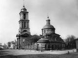 Church of the Life-Giving Trinity, Vishnyki, Moscow, Russia, 1881 Photographic Print by  Scherer Nabholz & Co