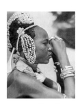 A Nigerian Girl, 1936 Giclée-tryk