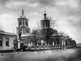 Church of the Life-Giving Trinity, Luzhniki, Moscow, Russia, 1881 Photographic Print by  Scherer Nabholz & Co