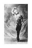 Vaslav Nijinsky, Russian Ballet Dancer, in Le Spectre De La Rose, Paris, 1911 Giclee-trykk