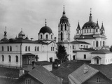 Monastery of the Immaculate Conception, Moscow, Russia, 1881 Photographic Print by  Scherer Nabholz & Co