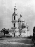 Epiphany Cathedral, Elokhovo, Moscow, Russia, 1881 Photographic Print by  Scherer Nabholz & Co