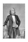 Franz Liszt, 19th-Century Hungarian Composer, Pianist, Conductor and Teacher Giclee Print