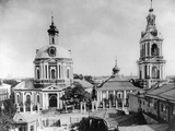 Church of the Holy Martyr Nikita, Old Basmannaya, Moscow, Russia, 1883 Photographic Print by  Scherer Nabholz & Co
