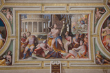The Sacrifice of Codrus, King of Athens (Public Virtues of Greek and Roman Heroe), 1529-1535 Photographic Print by Domenico Beccafumi