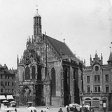 The Frauenkirche, Nuremberg, Bavaria, Germany, C1900 Reproduction photographique par  Wurthle & Sons
