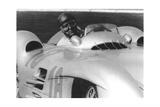 Fangio, French Grand Prix, Rheims, France, 1954 Giclée-Druck