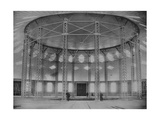 The World First Membrane Roof and Steel Gridshell in the Rotunda, 1896 Giclee Print by Andrei Osipovich Karelin