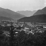 Bad Ischl, at the Foot of Hoher Dachstein, Salzkammergut, Austria, C1900s Reproduction photographique par  Wurthle & Sons